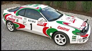 Toyota Celica Rallyautó Vezetés 15 kör