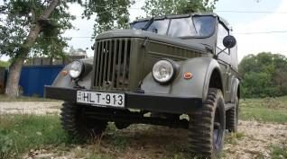 GAZ 69 8 fős Katonai Terepjáró Vezetés 30 perc