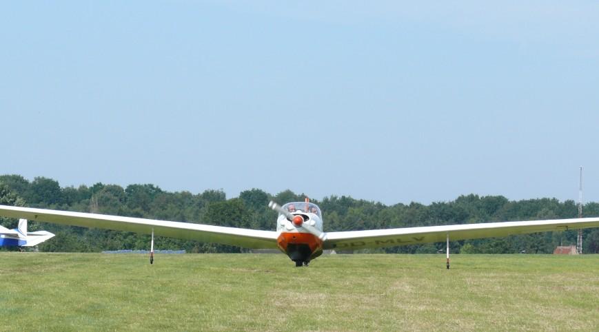 Repülőgép Vezetés Falke Motoros Vitorlázóval Szeged felett