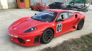 Ferrari F430 GT3 520 LE autóvezetés Hungaroring 3 kör