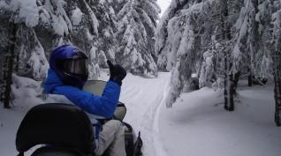 Motorosszán túra Rejdovái nagy körút 2 fő 40 km 3 óra