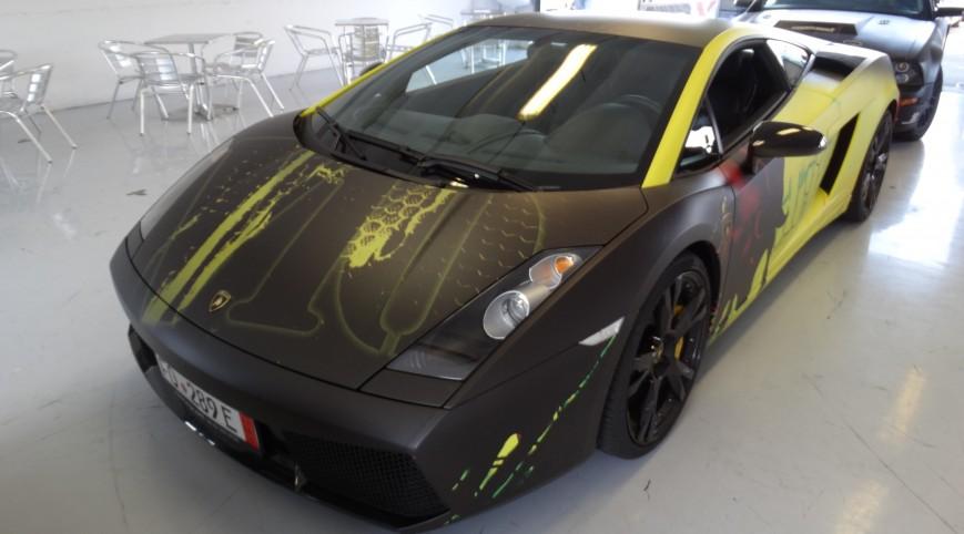 Lamborghini Gallardo autóvezetés Euroring 3 kör+Ajándék Videó