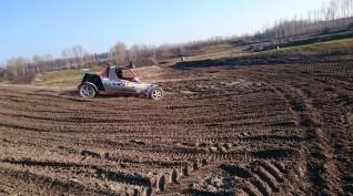 """Buggy """"Szöcske"""" rally autóvezetés 3 kör"""
