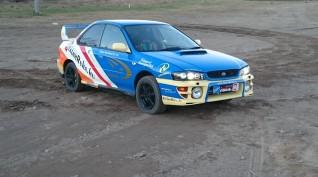 Subaru Impreza WRX STI versenyautó vezetés autócross pályán 10 kör
