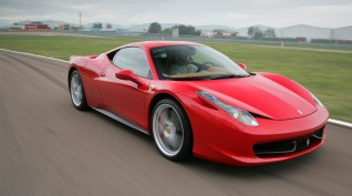 Ferrari 458 Italia közúti autóvezetés 17 km