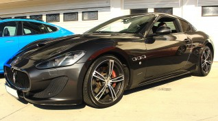 Maserati GranTurismo 520 LE vezetés KakucsRing 8 kör