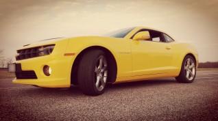 """Chevrolet Camaro SS """"Űrdongó"""" autóvezetés vagy utasautóztatás 4 kör"""
