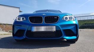 BMW M2 410 LE autóvezetés Hungaroring 4 kör