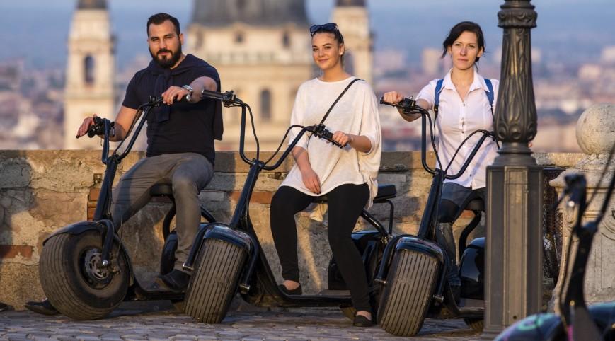 MonsteRoller túra Budapesten idegenvezetővel 1 fő 2 óra