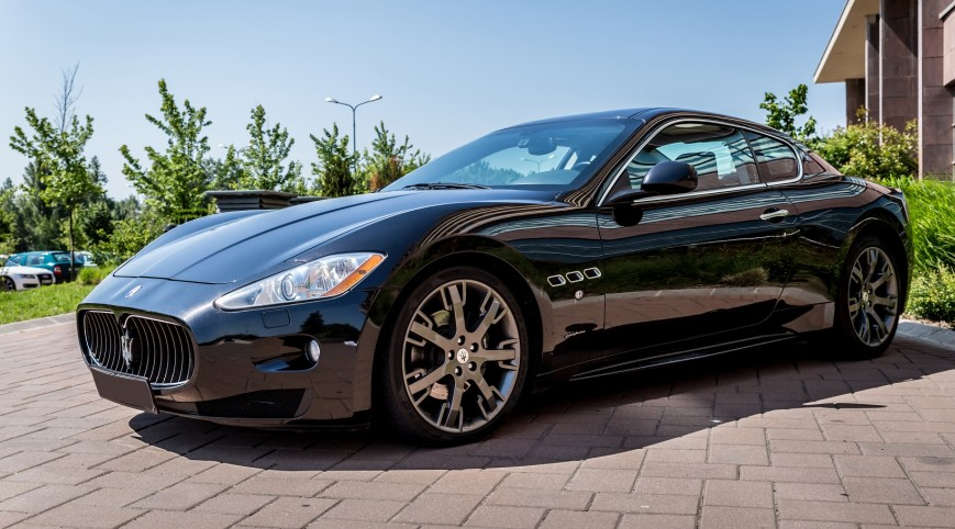 Maserati GranTourismo S 500 LE vezetés Premium kör 14-16 km