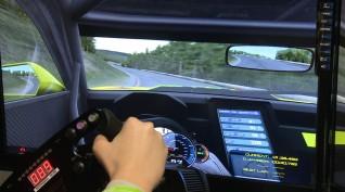 Versenyautó vezetés szimulátoron 1 fő 2 óra