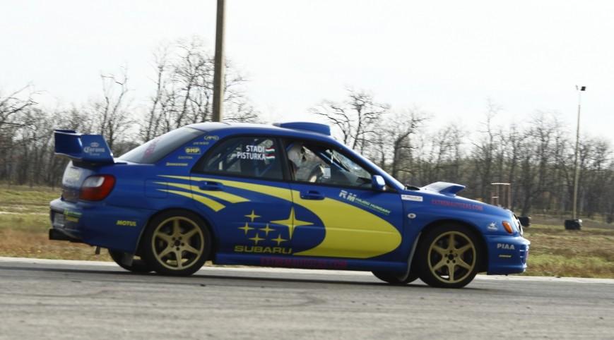 Subaru Impreza WRX Rally autóvezetés Hungaroring 3 kör