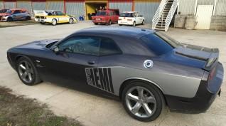 Dodge Challenger 450 LE vezetés Vin Diesel csomag Hungaroring 4 kör