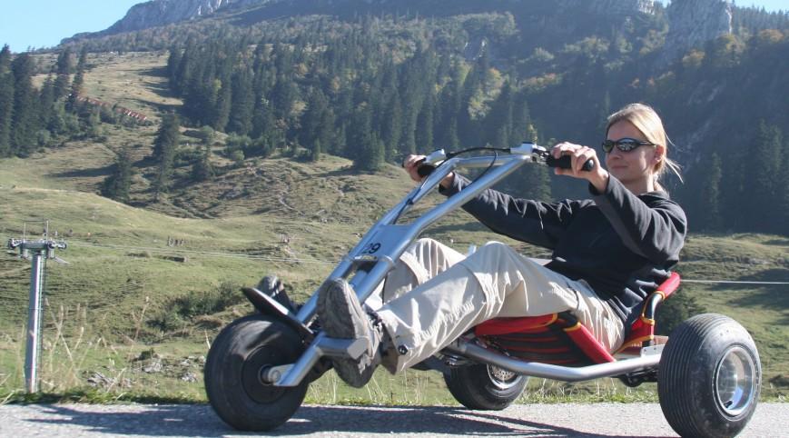 Túrázás Mountaincart -tal