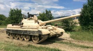 T-55 tankvezetés Budaörsön