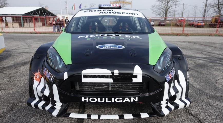 Ford Fiesta Rally élményvezetés KakucsRing 8 kör