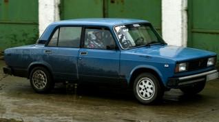 Lada 2105 Rally autóvezetés KakucsRing 5 kör