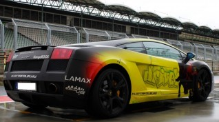 Lamborghini Gallardo autóvezetés Hungaroring 4 kör