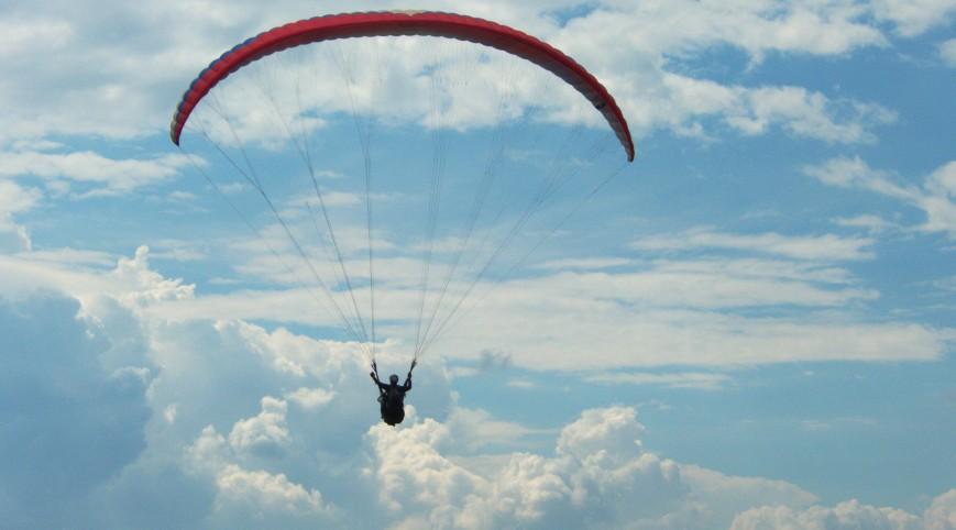 Siklóernyős Tandem Repülés Pároknak (Csörlőpályán)