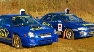Subaru Impreza STi és RA élményautó vezetés rallykrossz pályán 18 km