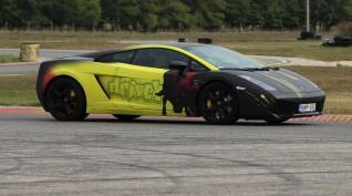 Lamborghini Gallardo autóvezetés Hungaroring 2 kör+videó