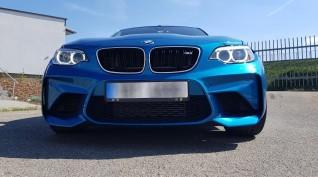 BMW M2 410 LE autóvezetés Euroring 7 kör