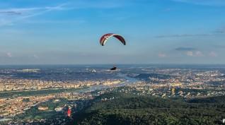 Siklóernyős Tandem Repülés Magyarország legszebb tájain 60-90 perc