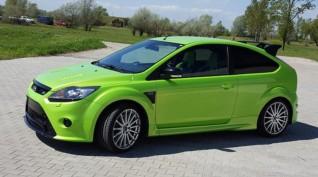 Ford Focus RS 350 LE autóvezetés KakucsRing 8 kör