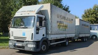 Pótkocsis teherautó vezetés és szimulátor 2X1 óra Budapesten