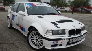 BMW E36 rally vezetés Kakucsring 8 kör + videó