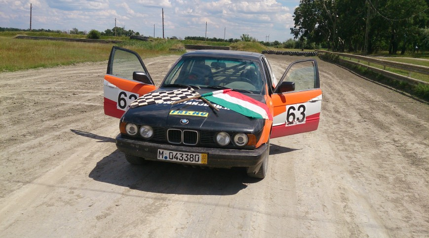 BMW E34 Rally Versenyautó Vezetés 10 kör