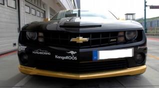 Chevrolet Camaro SS 480 LE autóvezetés Hungaroring 2 kör