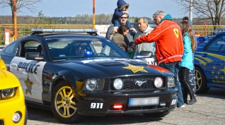 Ford Mustang GT Police vezetés KakucsRing 3 kör