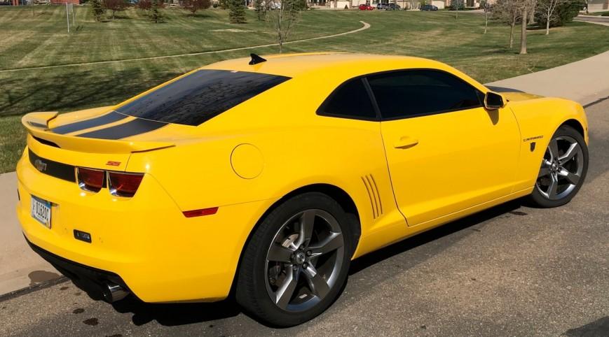 Chevrolet Camaro SS Űrdongó autóvezetés 10 kör