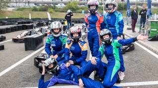Gokart mini bajnokság a Hungaroring gokartpályáján 6 fő