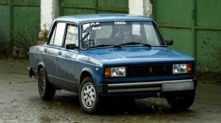 Lada 2105 Rally autóvezetés KakucsRing 3 kör