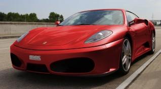 Ferrari F430 F1 490 LE autóvezetés Euroring 2 kör