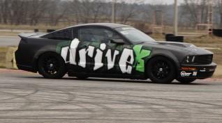 Ford Mustang GT 450 LE autóvezetés DRX Ring 6 kör+Ajándék Videó