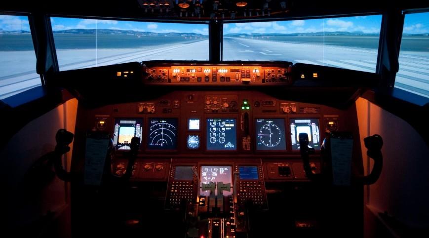 Repülőgép Szimulátor Boeing 737  30 perc