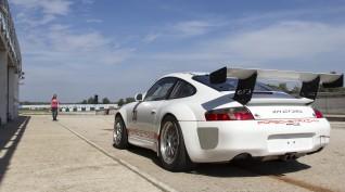 Porsche 911 GT3 RS versenyautó vezetés Euroring 2 kör