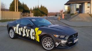 Ford Mustang GT 500 LE autóvezetés Euroring 3 kör+Ajándék Videó