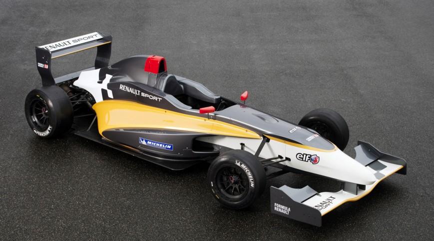Forma Autó Vezetés Renault Versenyautóval az Euroringen 6 kör