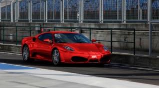 Ferrari F430 F1 490 LE autóvezetés Hungaroring 4 kör