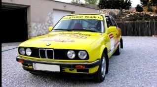 BMW E30 320i Rallyautó Vezetés 10 kör