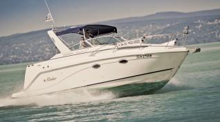 Naplemente egy Yachtról a Balatonon