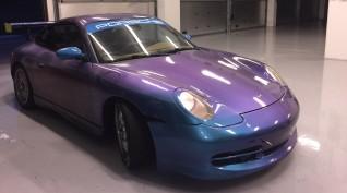 Porsche 996 versenyautó vezetés KakucsRing 6 kör