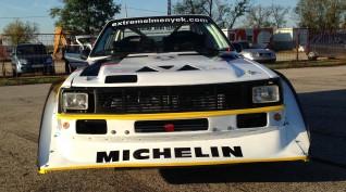 Audi S1 Rally car Proto autóvezetés Hungaroring 4 kör