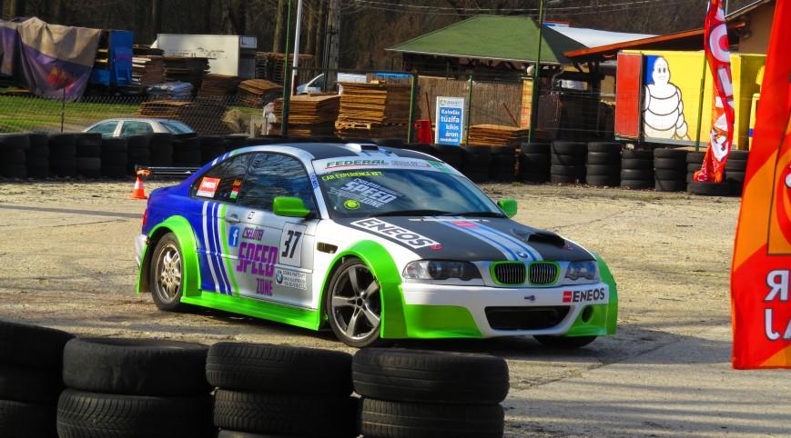 BMW E46 AC Schnitzer Versenyautó drift vezetés 40 perc