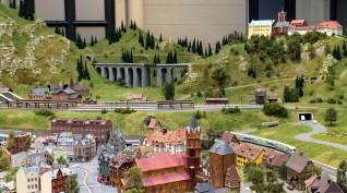 Interaktív vasútmodell kiállítás kulisszák mögötti túrával 4 fő