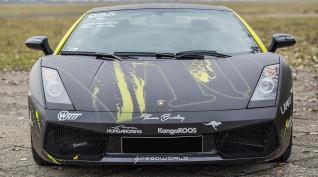 Lamborghini Gallardo autóvezetés DRX Ring 3 kör